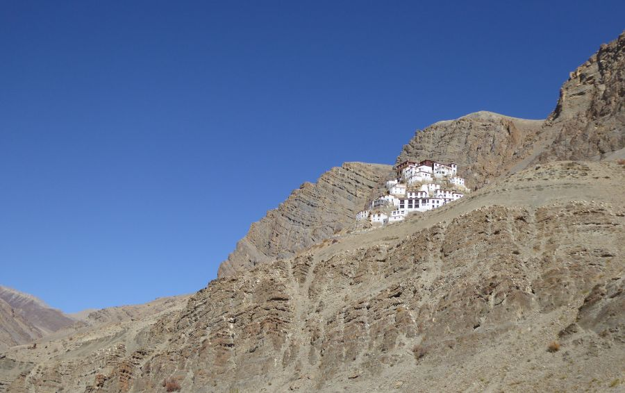 10.The Ki Gompa peched high up