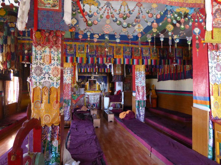 17. The Gompas inner sanctum