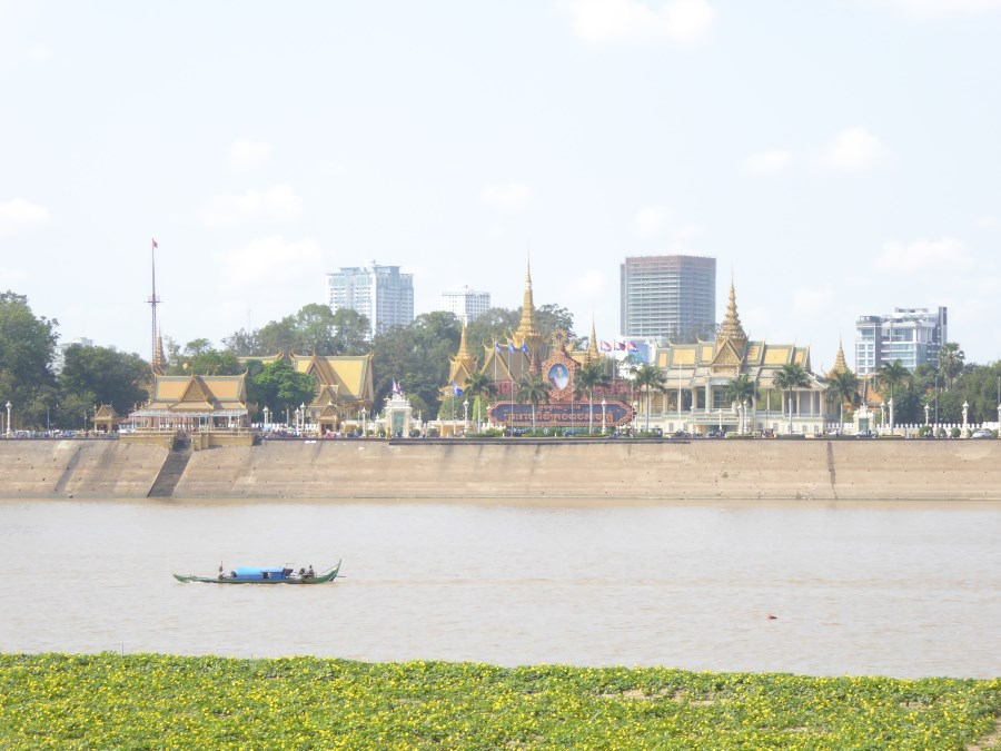 The Cambodian capital, Phnom Penh, is also on the Mekong River.