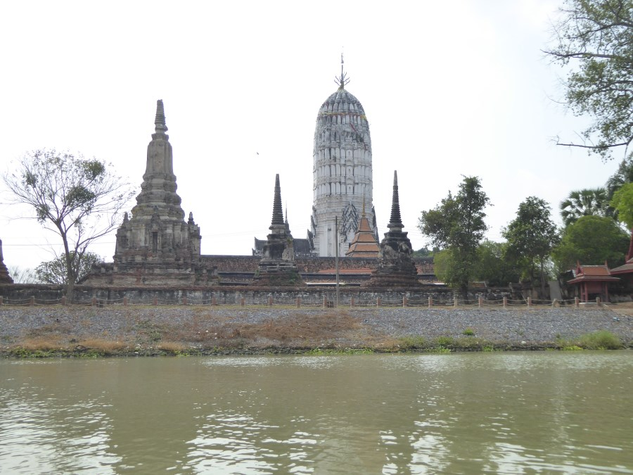Ayuthaya has moats, channels and a river to the sea. It is very progressive. There are concession areas for all the main seafaring nations.