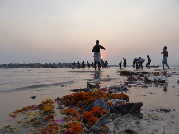 The Goddess Ganga – presides at Allahabad