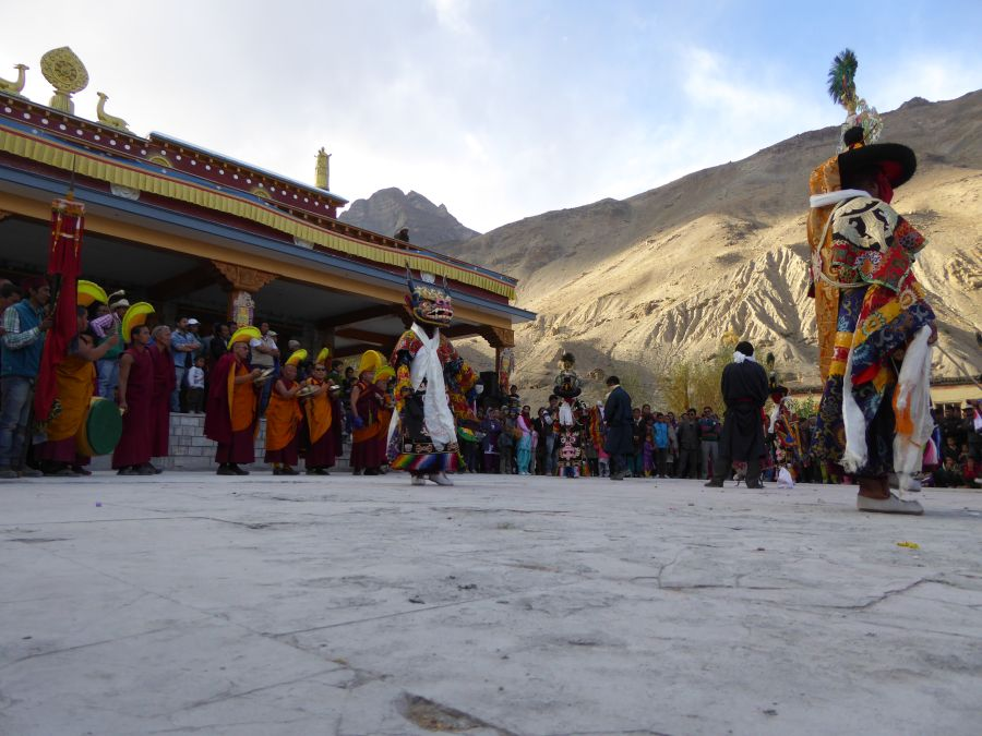 A Buddhist ceremony in Tabo