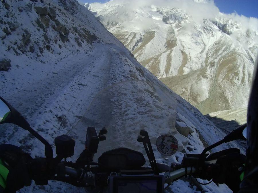 The last of the Tibetan highway