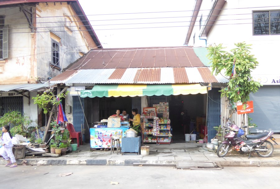 And we see HOUSE SHOPS like this EVERYWHERE too. Almost everybody has a business in front of their homes!