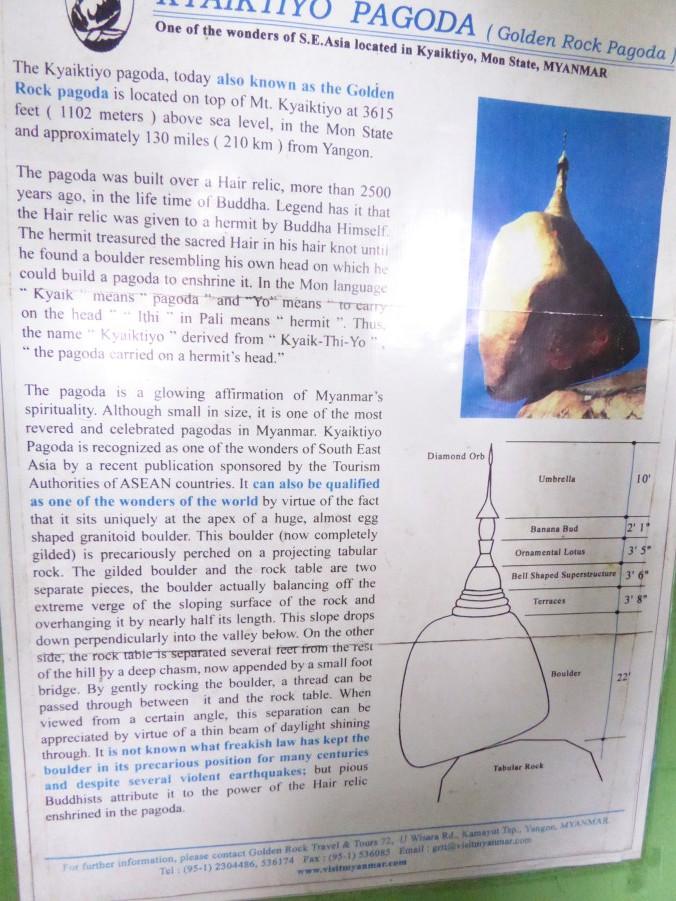 A Pagoda on a Balancing Boulder!