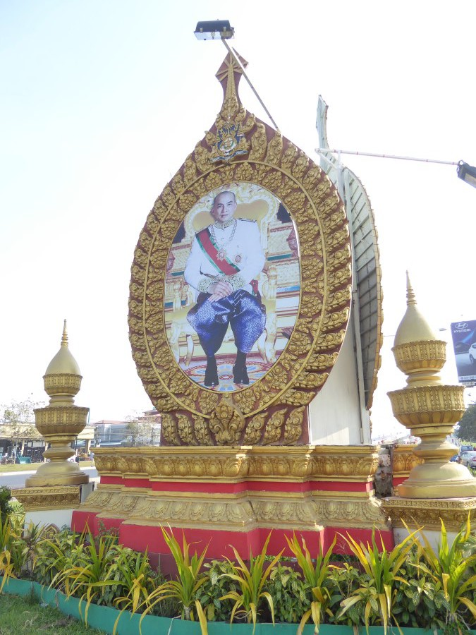 Strongman No. 3, King Sihanouk, is replaced by his son, Sihamoni.