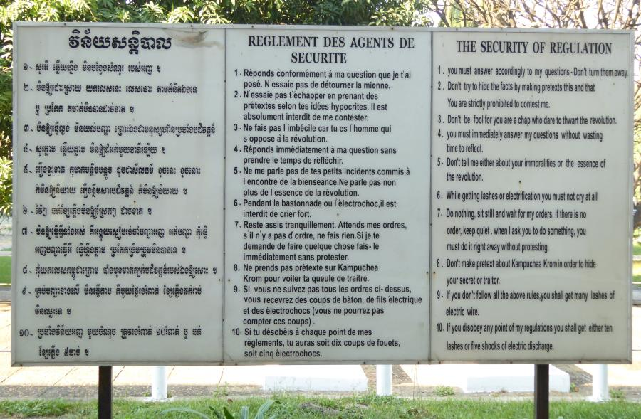 : S-21, also known as Tuol Sleng, was the Khmer Rouge's main prison and torture centre